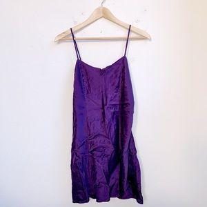 Victoria's Secret | Purple Slip Dress